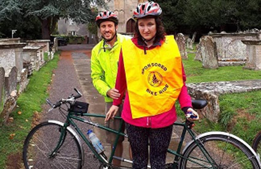 Tandem Bike Charity set to take part in Gloucestershire's 2019 Ride+Stride Event
