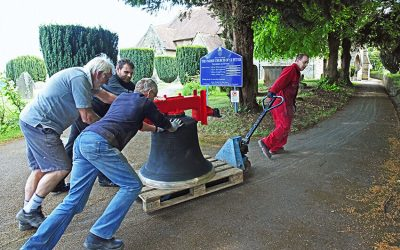 Restored bells bring new life to Gloucestershire village