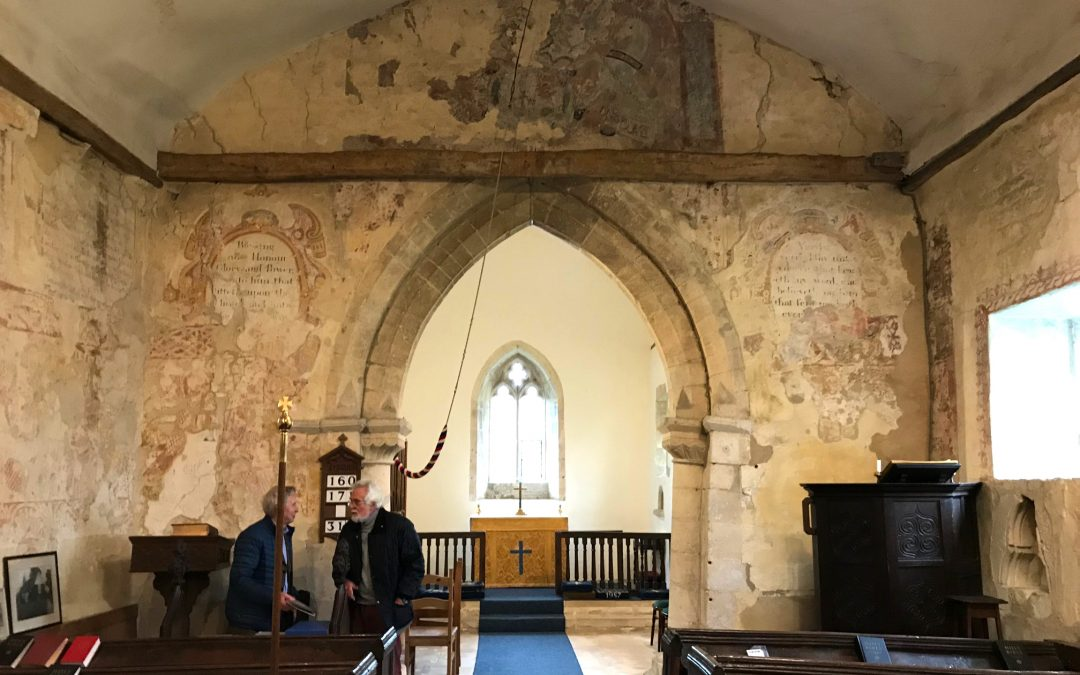 The Stoke Orchard Wall Paintings Conservation Project Team is looking to recruit!